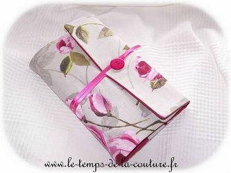 protège livre couvre livre ajustable rose gris vert dijon couture création décoration ameublement fait main